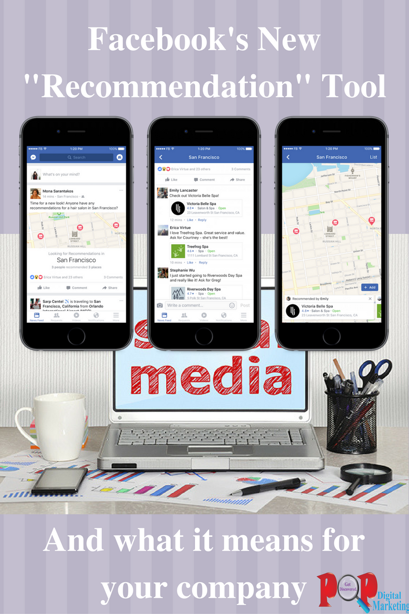 What Facebook's New Recommendation Tool Means For Your Company